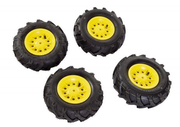 Luftbereifung für Traktoren gelb (Set)