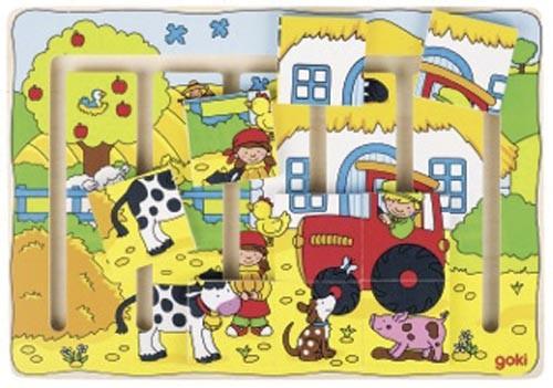 Schiebepuzzle - Unser Bauernhof