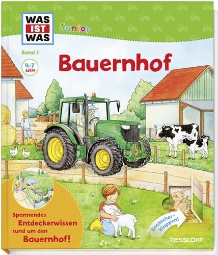Was ist Was Junior: Bauernhof -Band 1-
