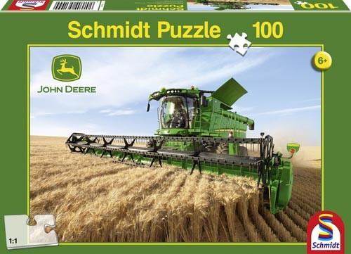 Puzzle John Deere Mähdrescher S690