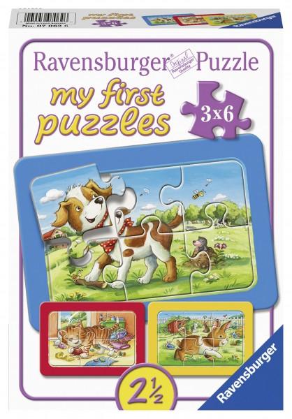 Puzzle Meine Tierfreunde