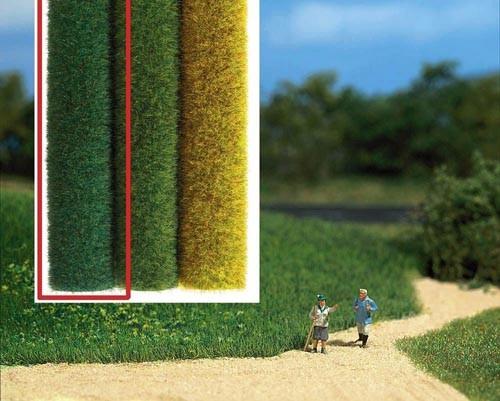 Wildgras-Geländeteppich (dunkelgrün) Modell von Busch 1:87
