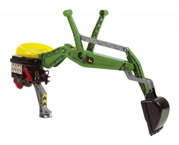 John Deere Heckbagger für alle Rolly Toys Traktoren