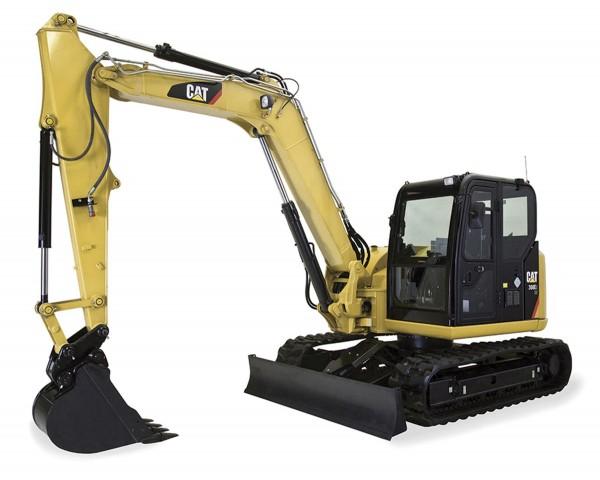 CAT 308E2 CR SB Mini Hydraulic Excavator Modell von DieCast Masters 1:32