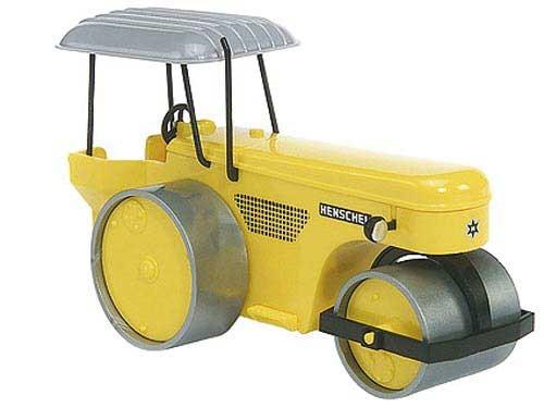 Henschel MW 80/100 Walze gelb Modell von epoche 1:90