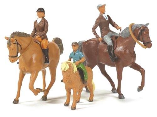 Pferde und Reiter Modell von Britains Farm Toys 1:32