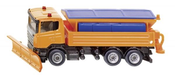 Winterdienst Scania LKW Modell von Siku 1:87