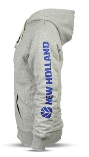 New Holland Sweatshirtjacke Gr. S