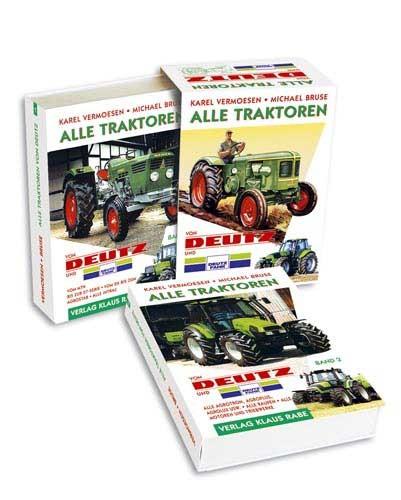 Alle Traktoren von Deutz Band 1 und Band 2