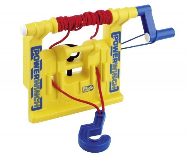 Seilwinde gelb von rolly toys