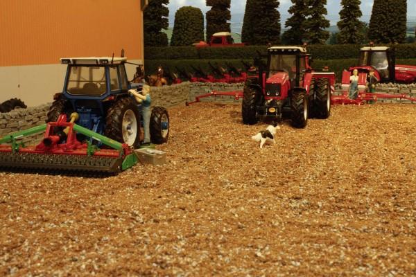 Bodenmischung für den Acker, 500-Gramm-Beutel Modell von Brushwood Toys 1:32