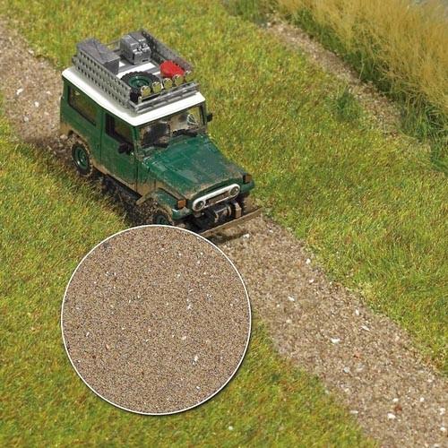 Parkweg und Strand Modell von Busch 1:87
