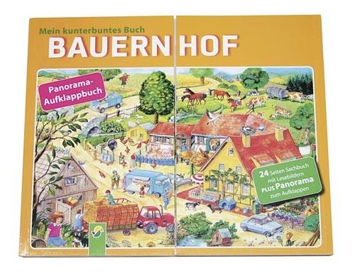 Bauernhof – Mein kunterbuntes Buch