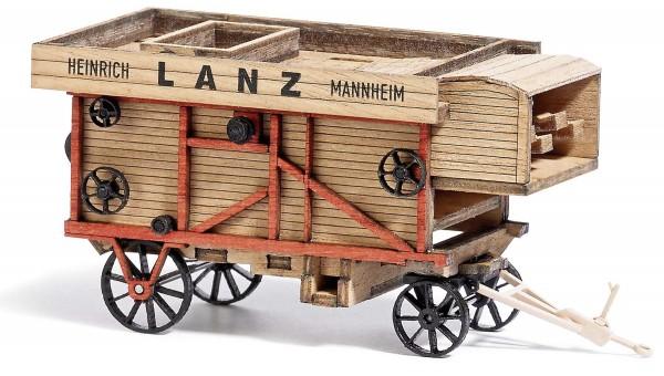 Dreschmaschine Lanz Modell von Busch 1:87