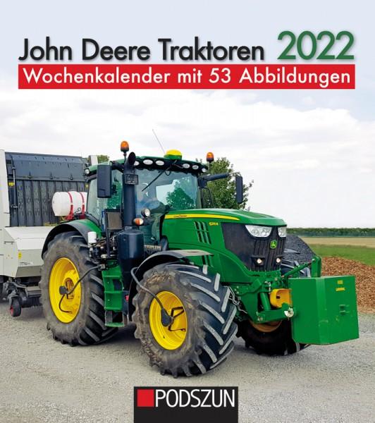 John Deere Traktoren Wochenkalender 2022