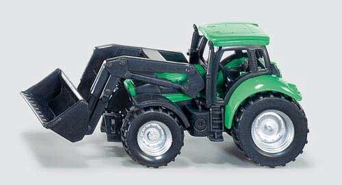 DEUTZ-FAHR Traktor mit Frontlader Modell von Siku