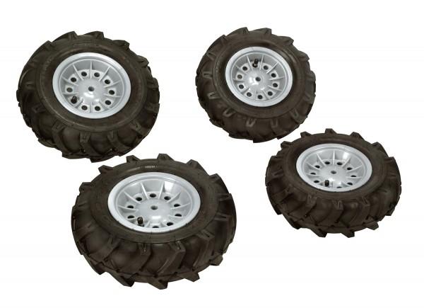 Luftbereifung für Traktoren grau (Set)
