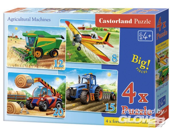 Landwirtschaftliche Maschinen 4 Puzzle