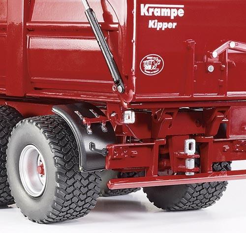 Krampe Hinter- Seitenkipper Big Body 650 S Modell von WIKING 1:32
