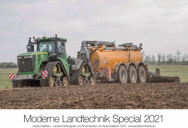 Kalender Moderne Landtechnik 2021 John Deere