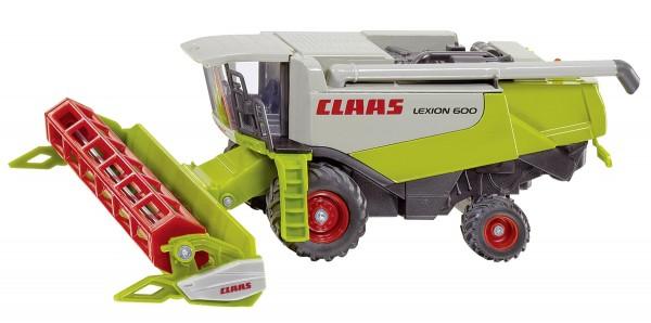 Mähdrescher Claas Lexion 600 Modell von Siku 1:50