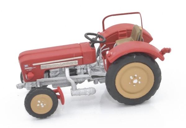 Schlüter Traktor S 350 rot Modell von NPE Modellbau 1:87