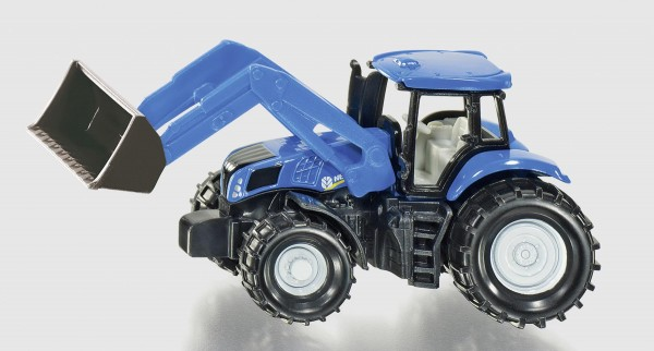 New Holland Frontlader (Blister) Modell von Siku