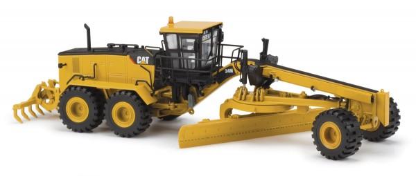 Motor Grader Motorgrader CAT 24 M Modell von DieCast Masters 1:50
