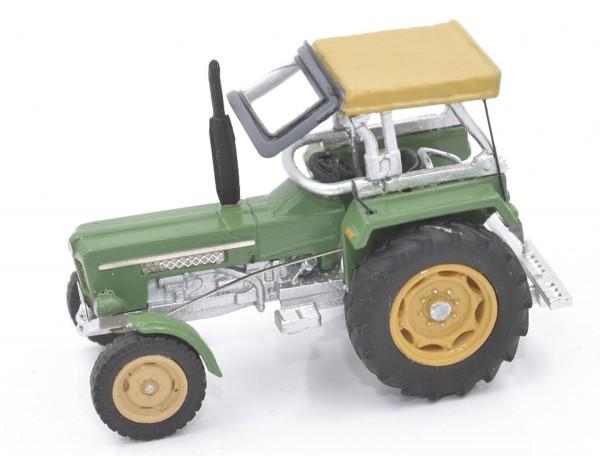 Schlüter Traktor Super 550 V grün Modell von NPE Modellbau 1:87