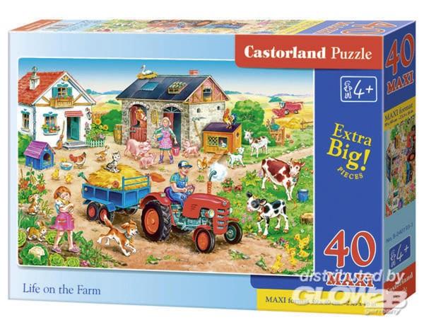Leben auf dem Bauernhof - Puzzle