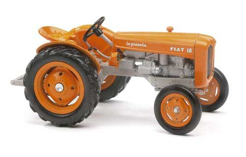 Fiat 18 La Piccola (orange Version) Modell von Replicagri 1:32