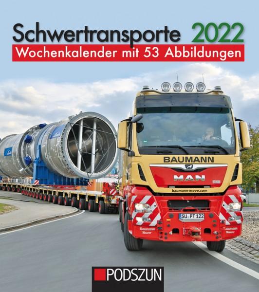 Schwertransporte Wochenkalender 2022