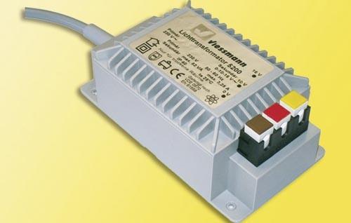 Lichttransformator 16 V, 52 VA Modell von kibri