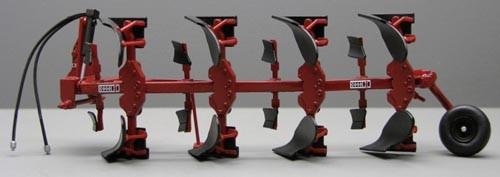 IHC 155 Vierschar-Drehpflug, ohne Traktor Modell von Replicagri 1:32