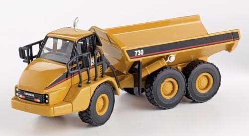 CAT 730 Kippfahrzeug (Dumper) Modell von DieCast Masters 1:87