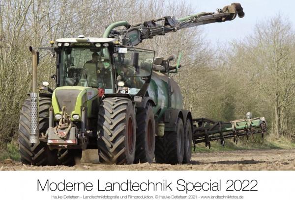 Moderne Landtechnik Claas Kalender 2022