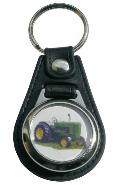 Schlüsselanhänger John Deere 70 mit Einkaufswagen-Chip Modell