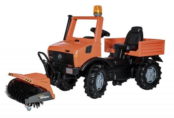 Unimog Kommunal mit Kehrmaschine von rolly toys