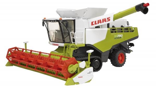 Claas Lexion 780 Terra Trac Mähdrescher Modell von Bruder 1:16