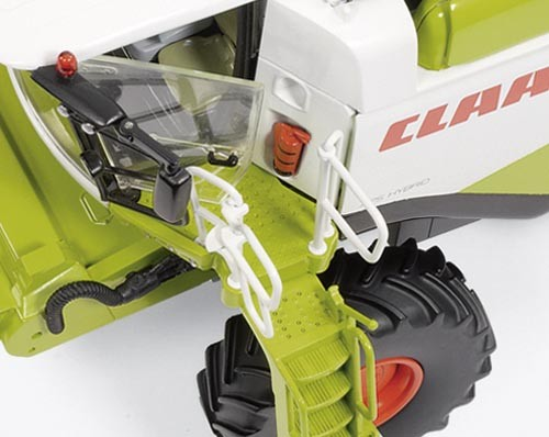 Claas Lexion 760 mit Conspeed Maisvorsatz Modell von WIKING 1:32