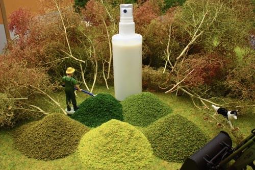 Meerschaumbäume mit Blattlaub-Effekt Modell von Brushwood Toys 1:32