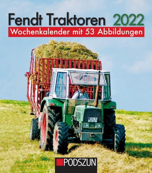 Fendt Traktoren Wochenkalender 2022
