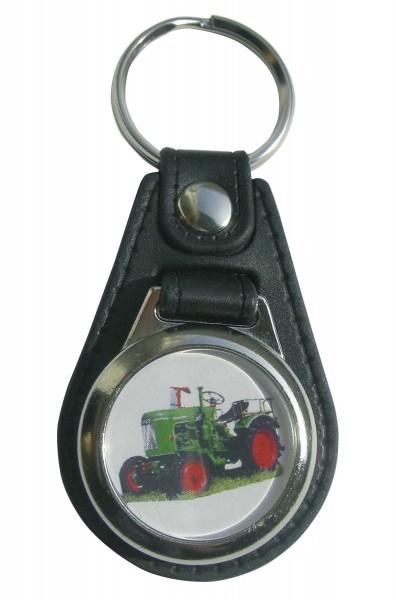 Schlüsselanhänger Fendt mit Einkaufswagen-Chip Modell