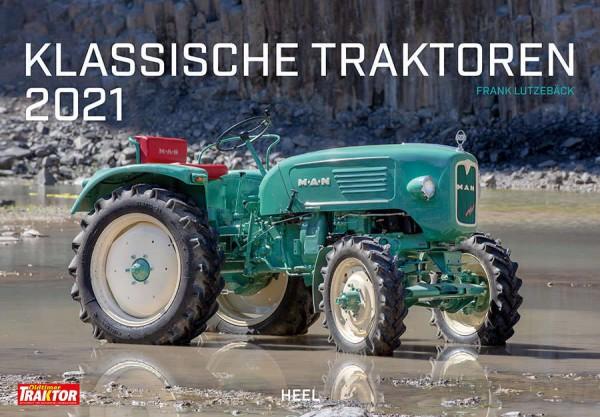 Klassische Traktoren Monatskalender 2021