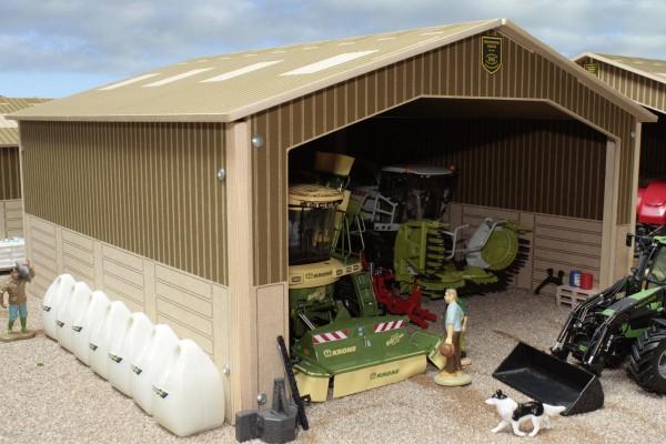 Maschinenhalle Modell von Brushwood Toys 1:32