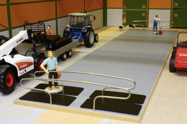 Plattform für Rinderboxen doppelreihig (2 Stück) Modell von Brushwood Toys 1:32