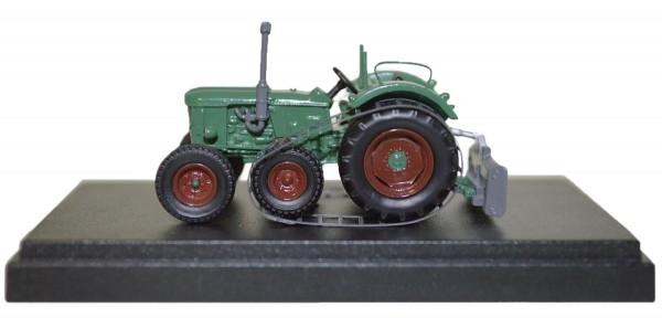 Deutz D 5505 Halbkettentraktor Modell von NPE Modellbau 1:87