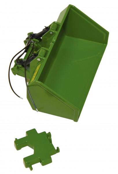 Godet Dreipunktschaufel grün Modell von Replicagri 1:32