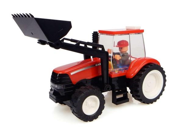 UH Kids Case IH Traktor mit Frontlader Bausatz