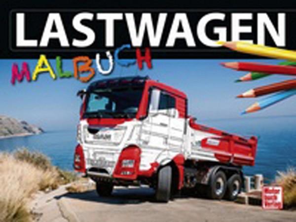 Lastwagen Malbuch